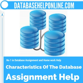 Characteristics Of The Database Assignment Help