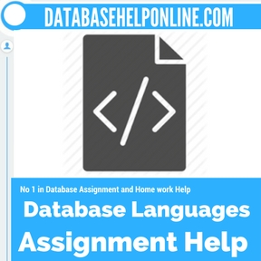 Database Languages assignment help