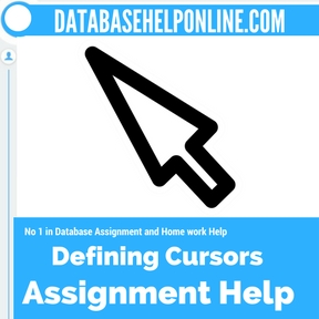 Defining Cursors Assignment Help