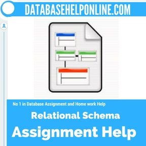 Relational Schema assignment help